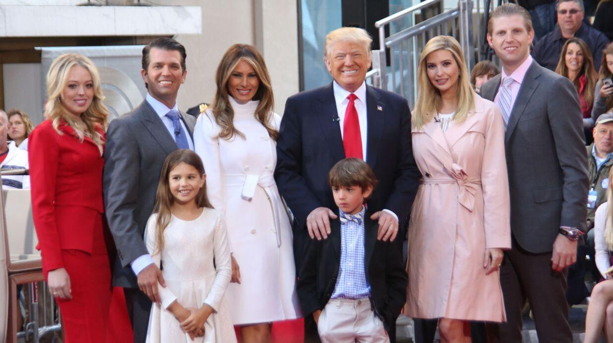 Donald Trump: des agents des services secrets sous le coup d'une enquête après un selfie avec son petit-fils
