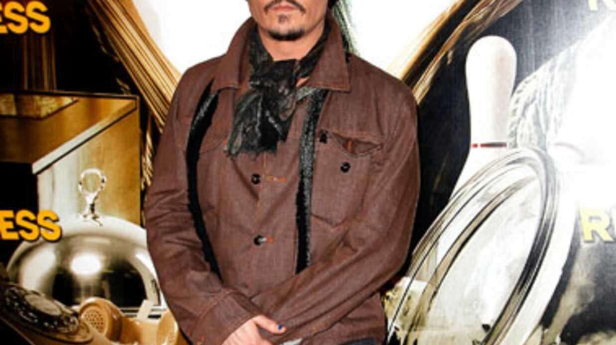 Johnny Depp veut être immergé dans du whisky à sa mort
