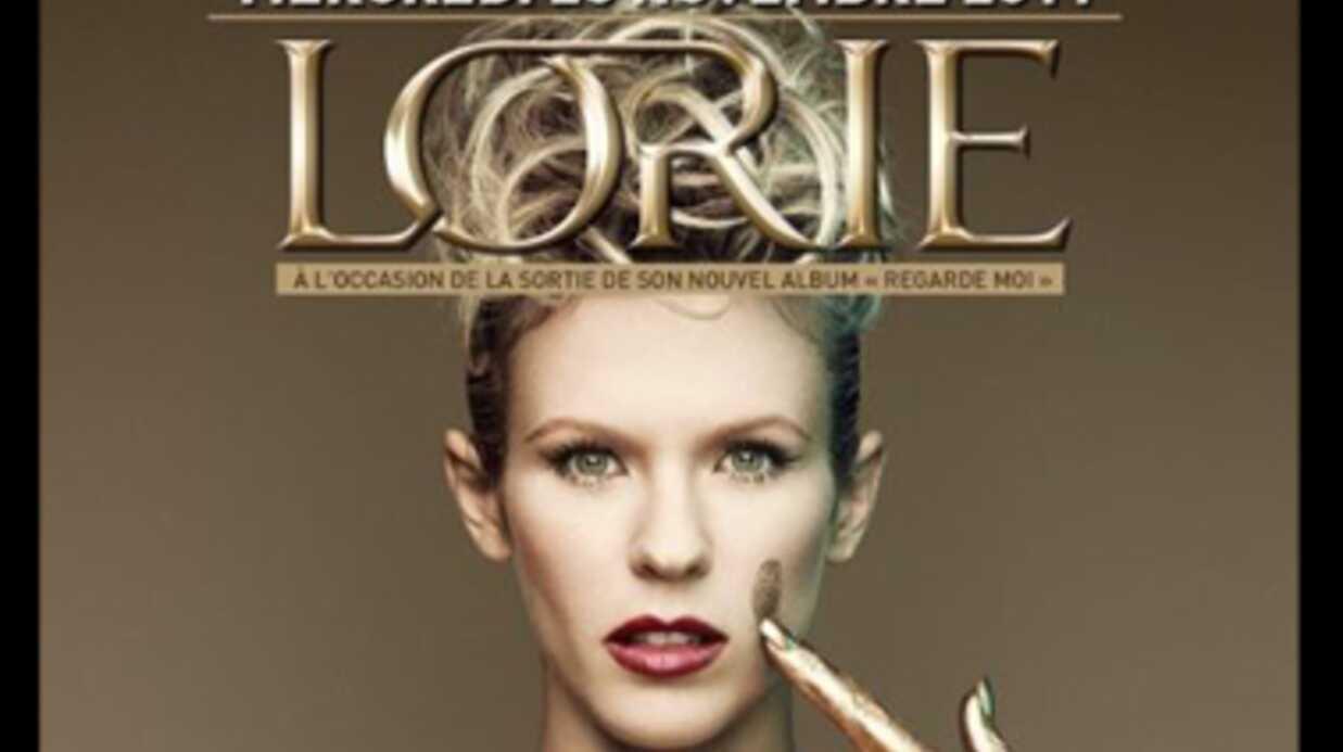 Lorie en promo au Queen pour son nouvel album