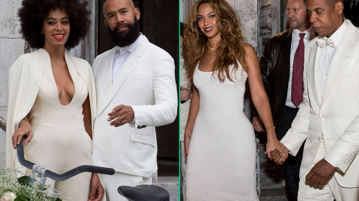 PHOTOS Beyoncé et Jay-Z très amoureux au mariage de Solange Knowles