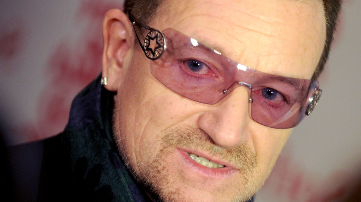 On sait enfin pourquoi Bono porte des lunettes en permanence