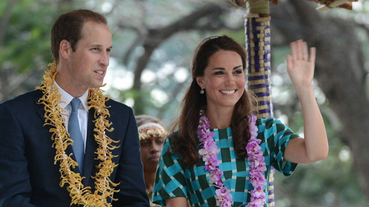 PHOTOS Kate Middleton tout sourire dans les îles Salomon