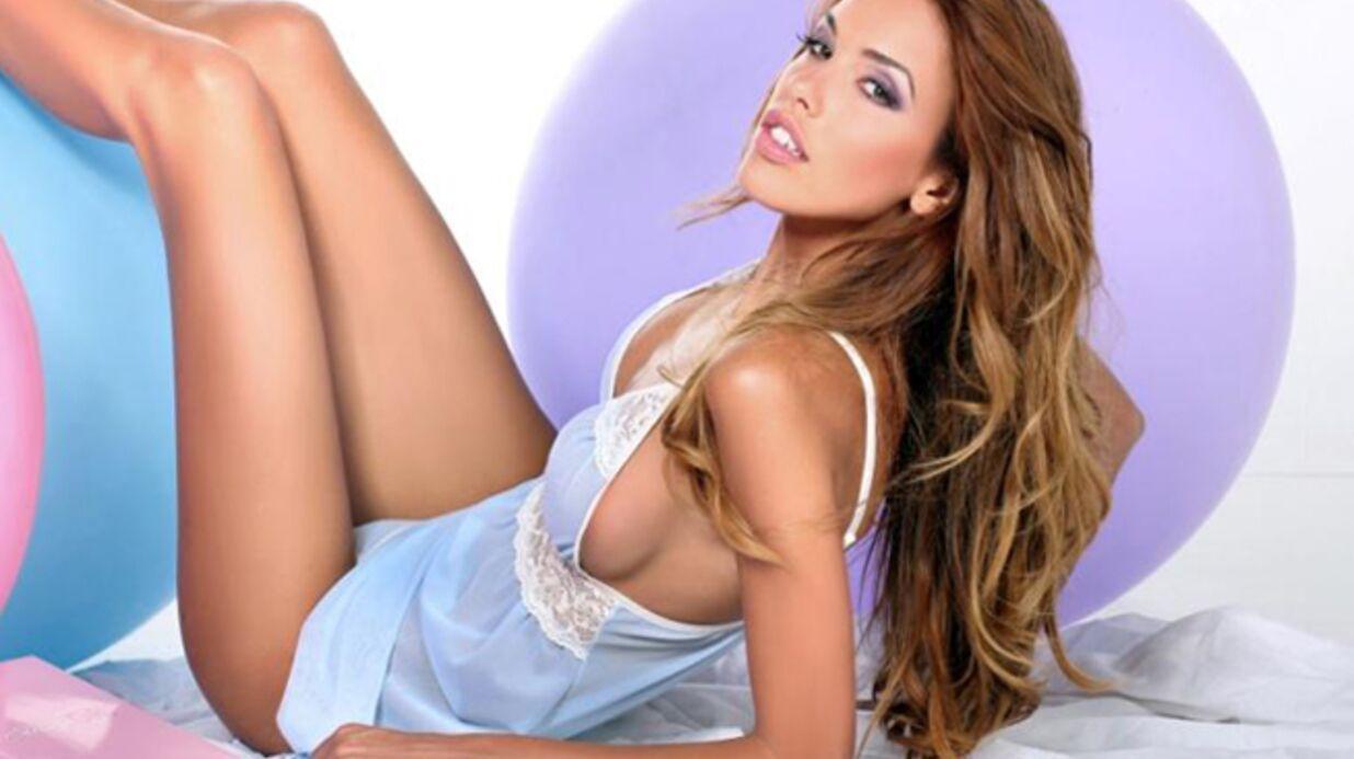 DIAPO Vanessa Lawrens (Les Anges de la téléréalité) égérie d'une marque de lingerie