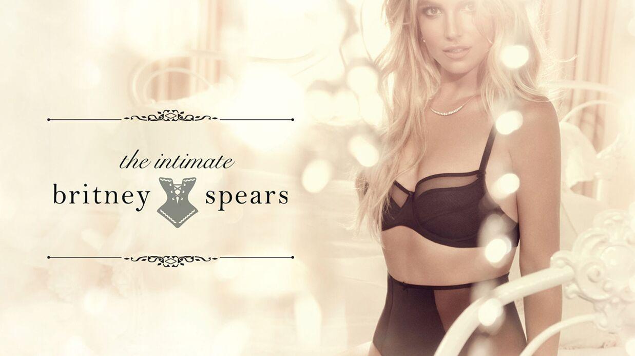 PHOTOS Britney Spears sexy (et à peine retouchée) dans sa lingerie fine