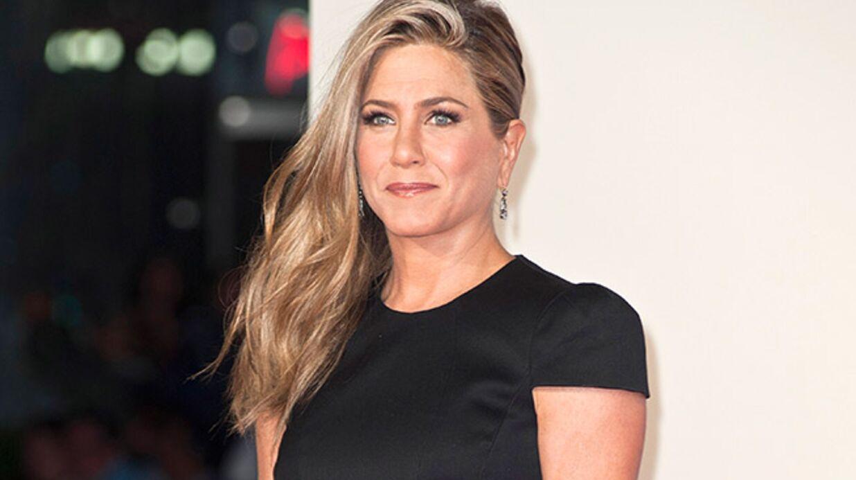 DIAPO Jennifer Aniston fait taire les rumeurs de grossesse