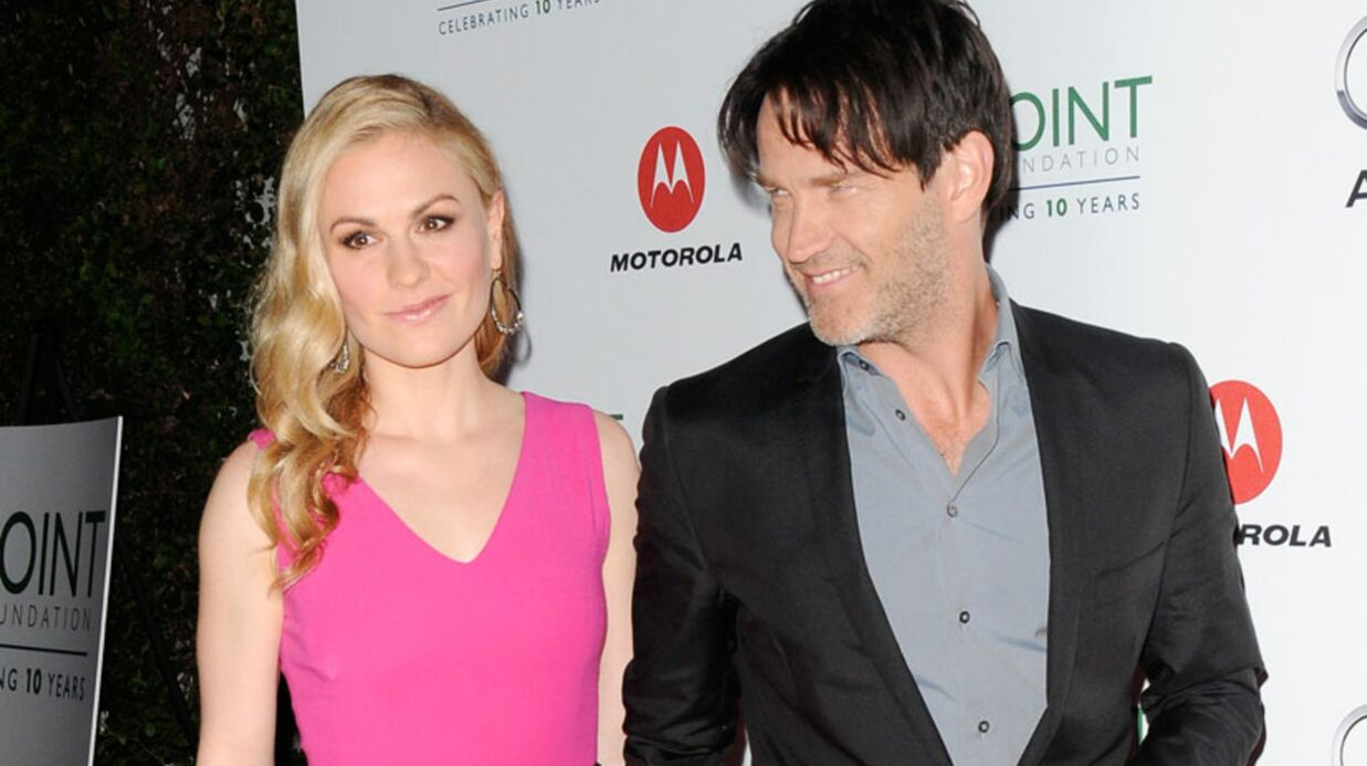 Anna Paquin et Stephen Moyer (True Blood) bien­tôt parents !