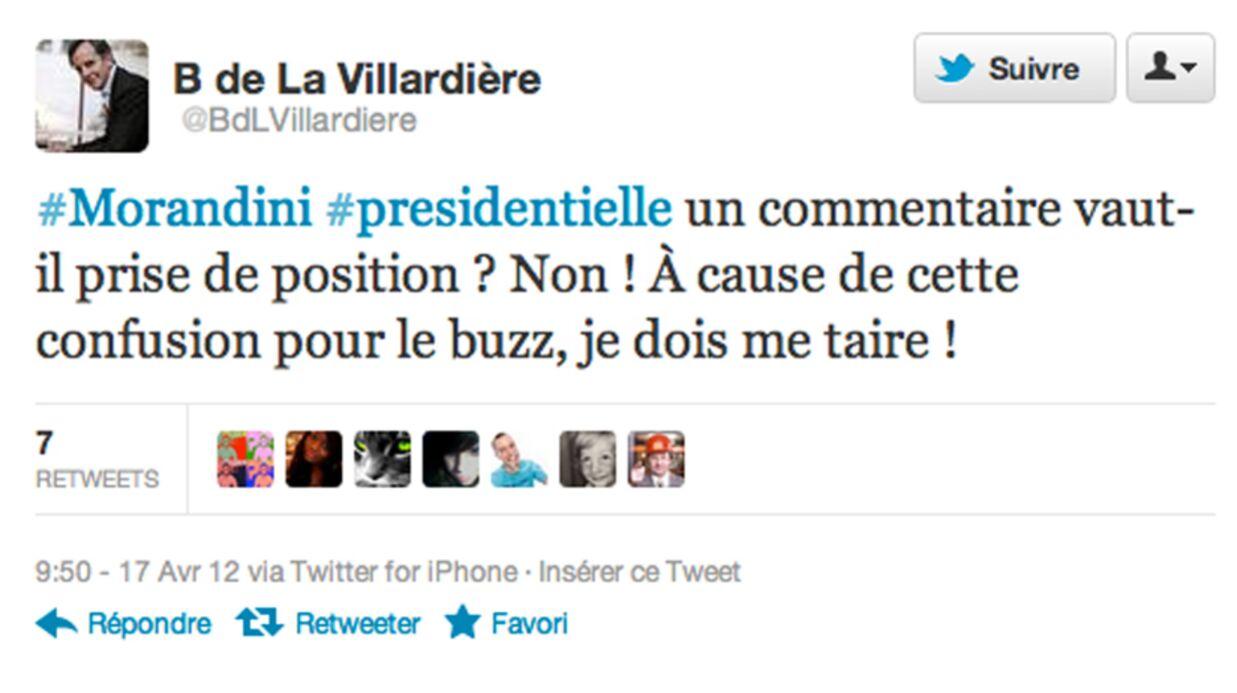 Bernard de La Villardière rappelé à l'ordre par M6