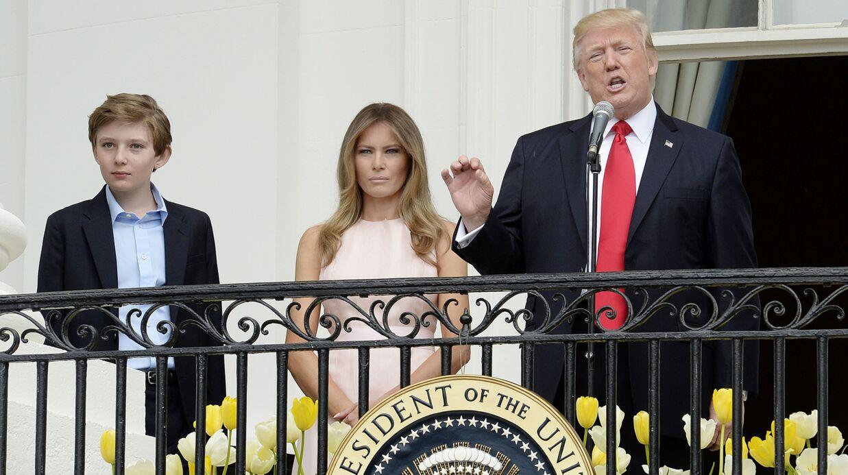 Donald Trump fait un faux-pas en public, sa femme Melania le rappelle à l'ordre