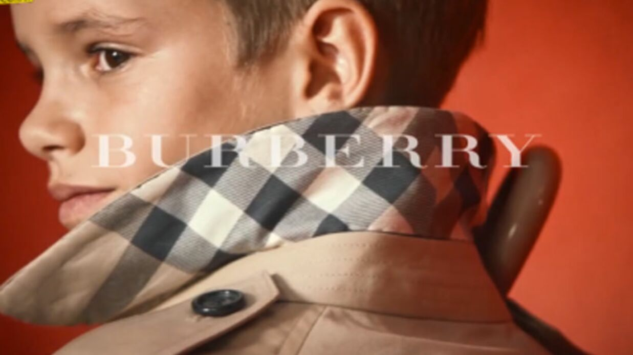 Romeo Beckham devient le nouveau visage de Burberry
