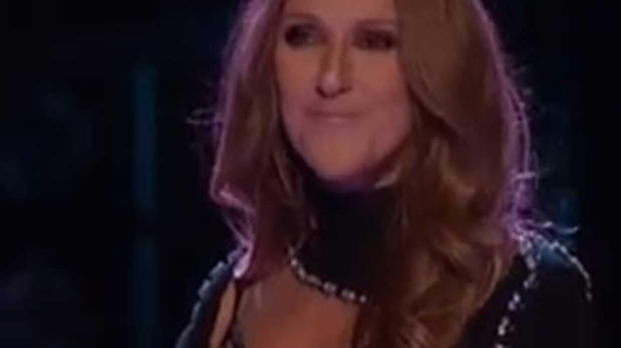 PHOTOS Céline Dion ose la robe super sexy (eh oui) pour la finale de The Voice US
