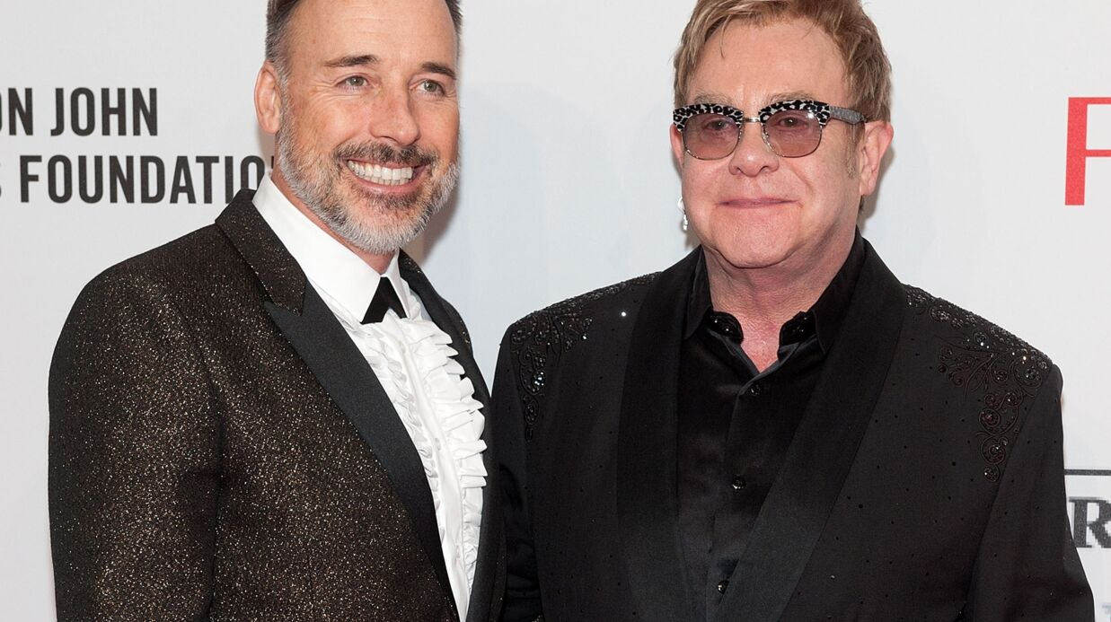 Elton John va se marier ce week-end avec David Furnish !