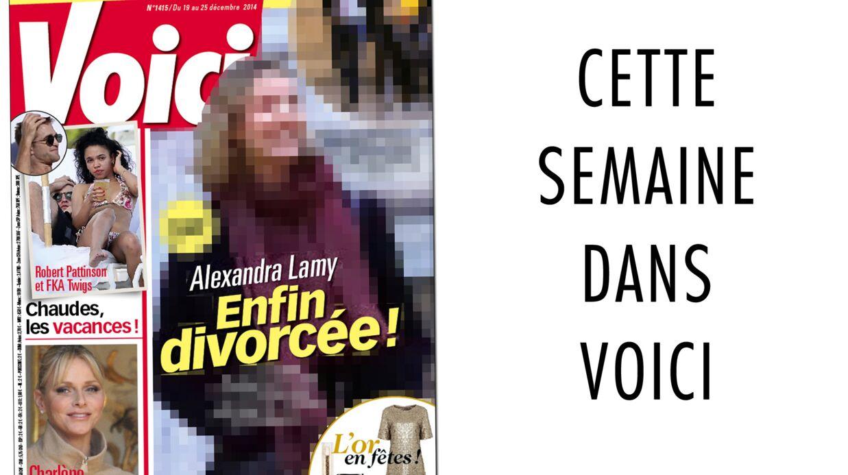 C'est dans Voici: Alexandra Lamy et Jean Dujardin se retrouvent pour divorcer