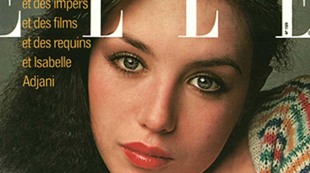 Isabelle Adjani: la une de magazine où elle s'est trouvée «horriblement moche»