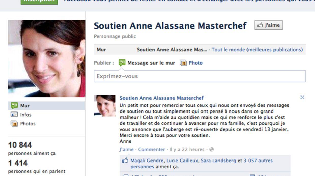 Anne Alassane (Masterchef): ses premiers mots après le drame