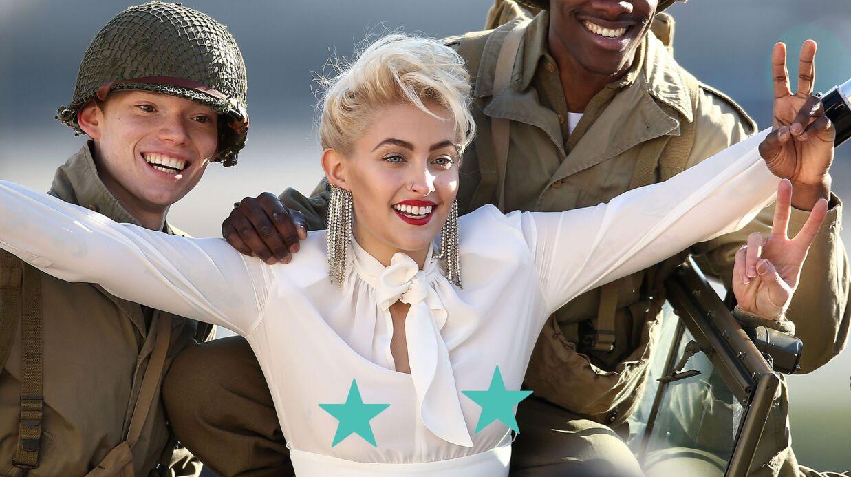 PHOTOS Paris Jackson: en shooting à Paris, elle en montre beaucoup avec son chemisier transparent