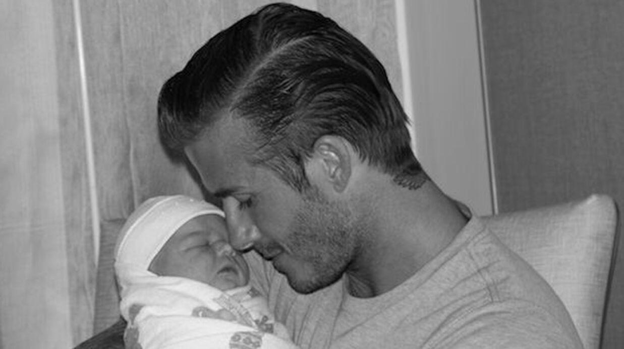 David et Victoria Beckham: la première photo de leur fille