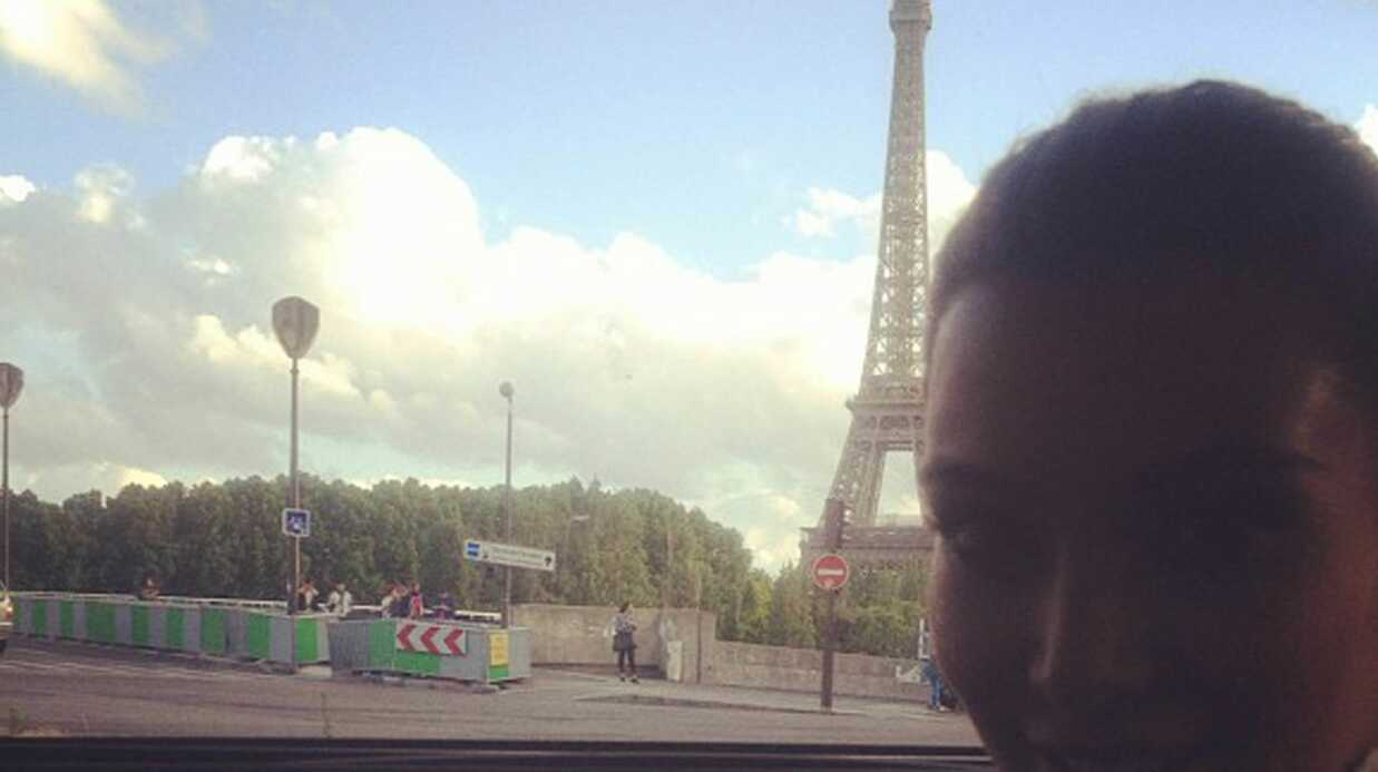 PHOTOS Kanye West et Kim Kardashian dans les embouteillages parisiens