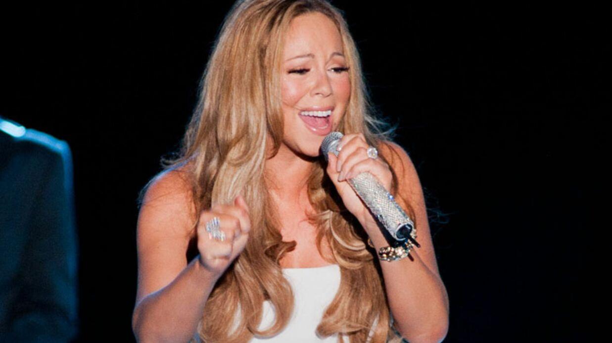 Mariah Carey chante pour soutenir Barack Obama