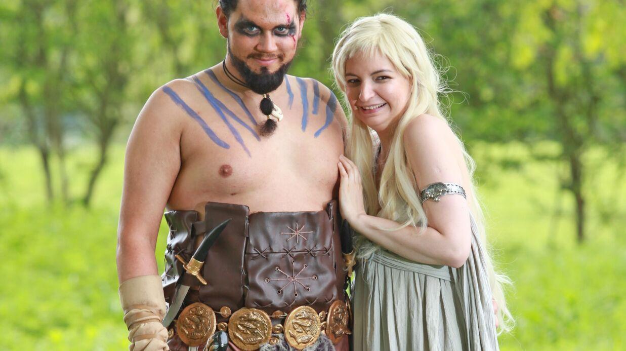 PHOTOS Game of Thrones: un couple de fans va se marier déguisé en Daenerys et Khal Drogo