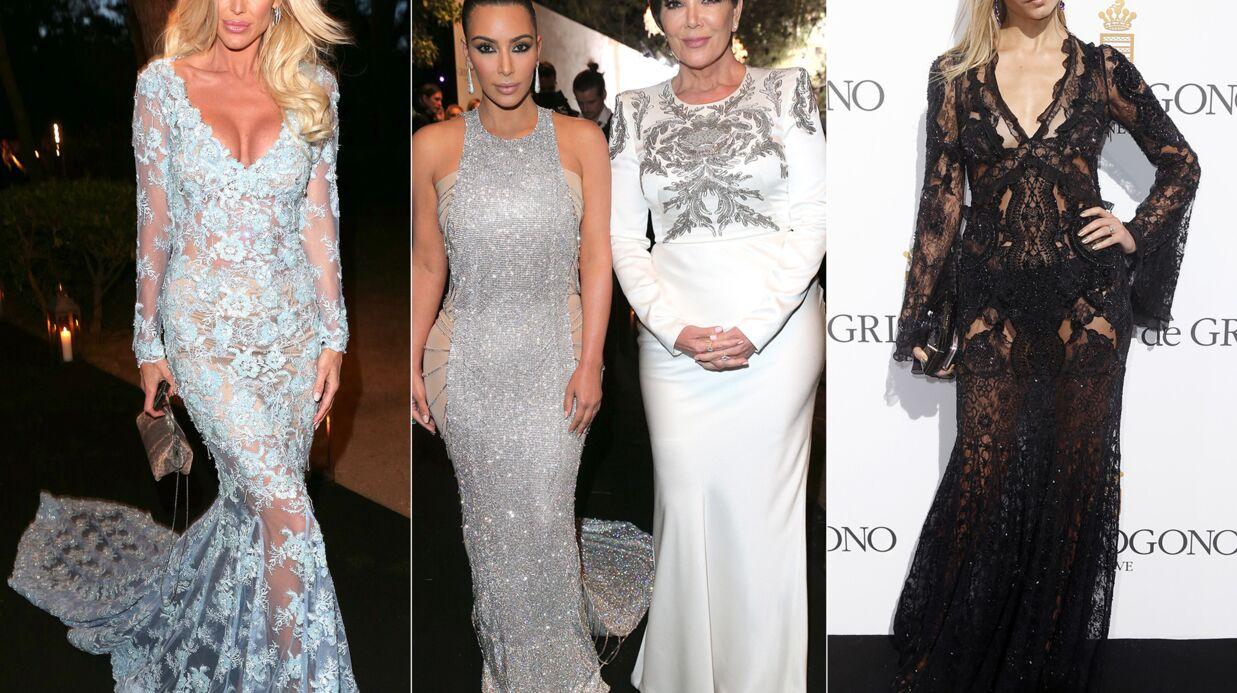 PHOTOS Cannes 2016: Kim Kardashian étincelante, Victoria Silvstedt décolletée pour De Grisogono