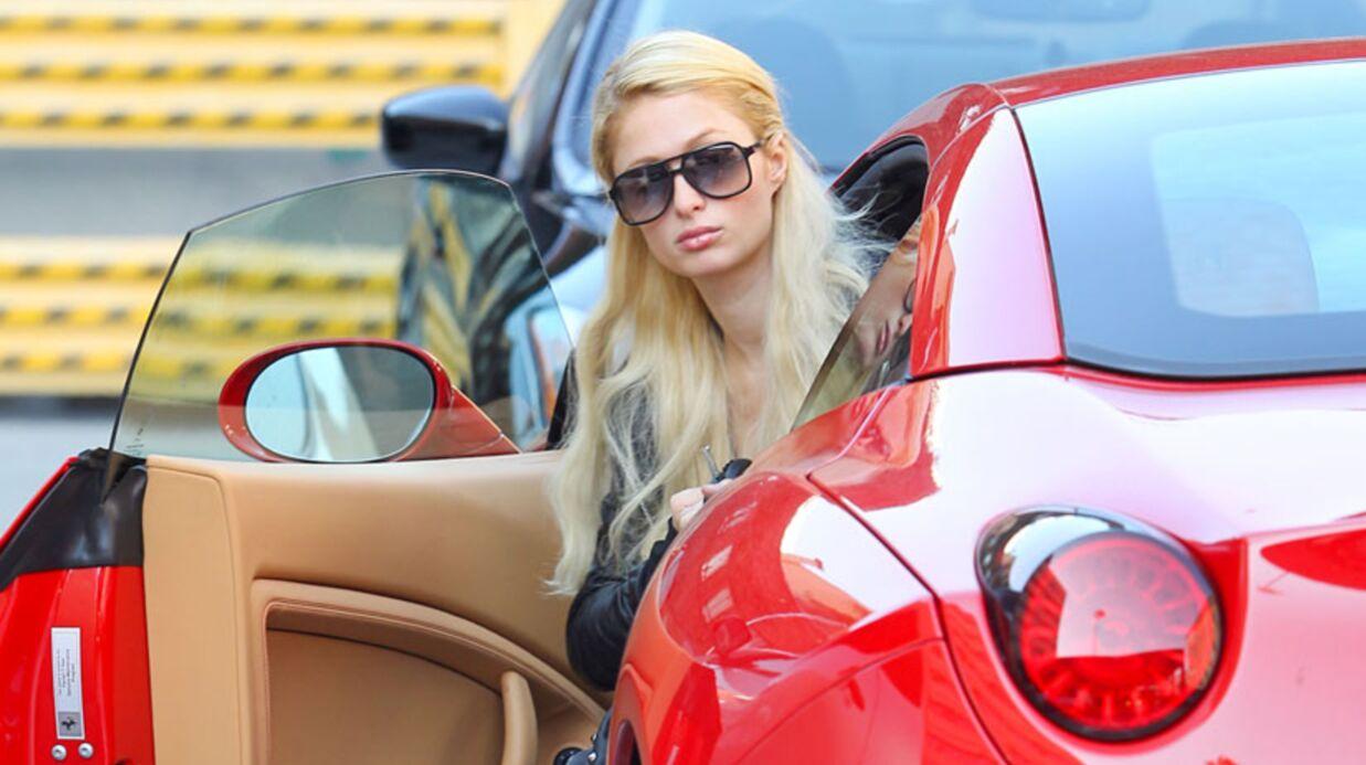 VIDEO Paris Hilton échappe de peu à une bagarre