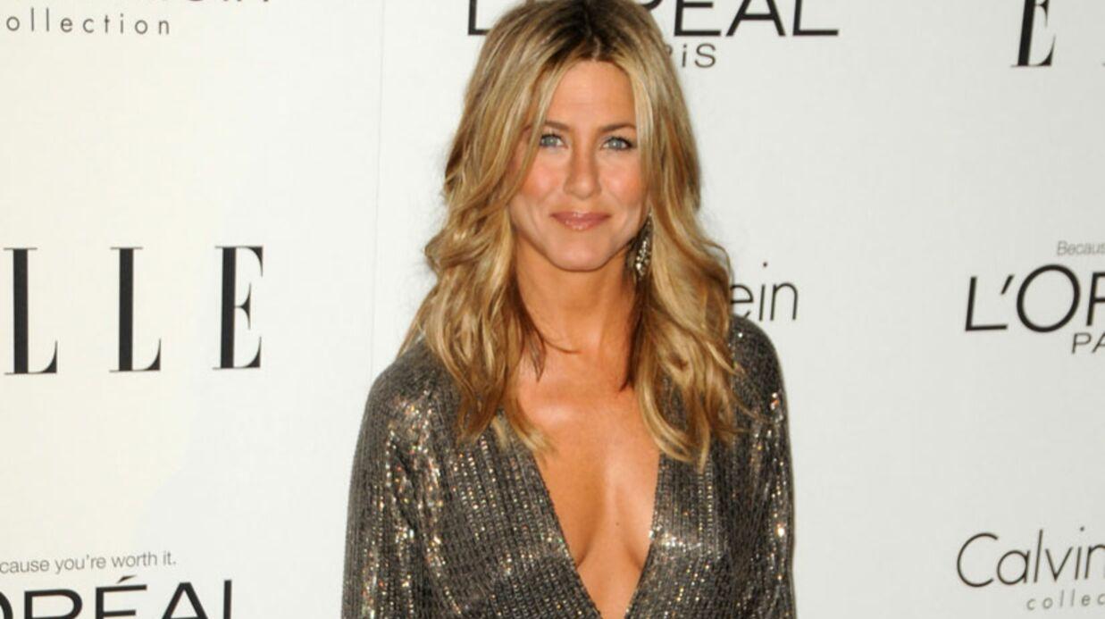 LOOK Jennifer Aniston illumine le Elle's Annual Women
