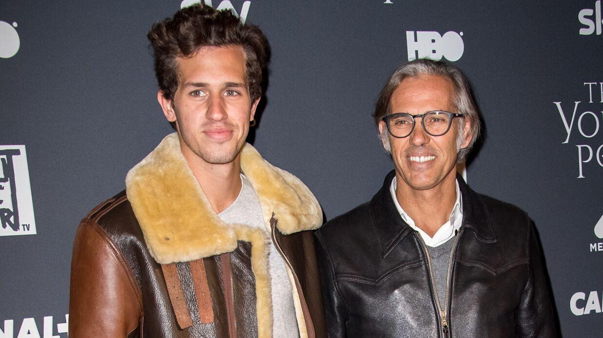 PHOTOS Paul Belmondo prend la pose avec son fils Victor, et il est canon!