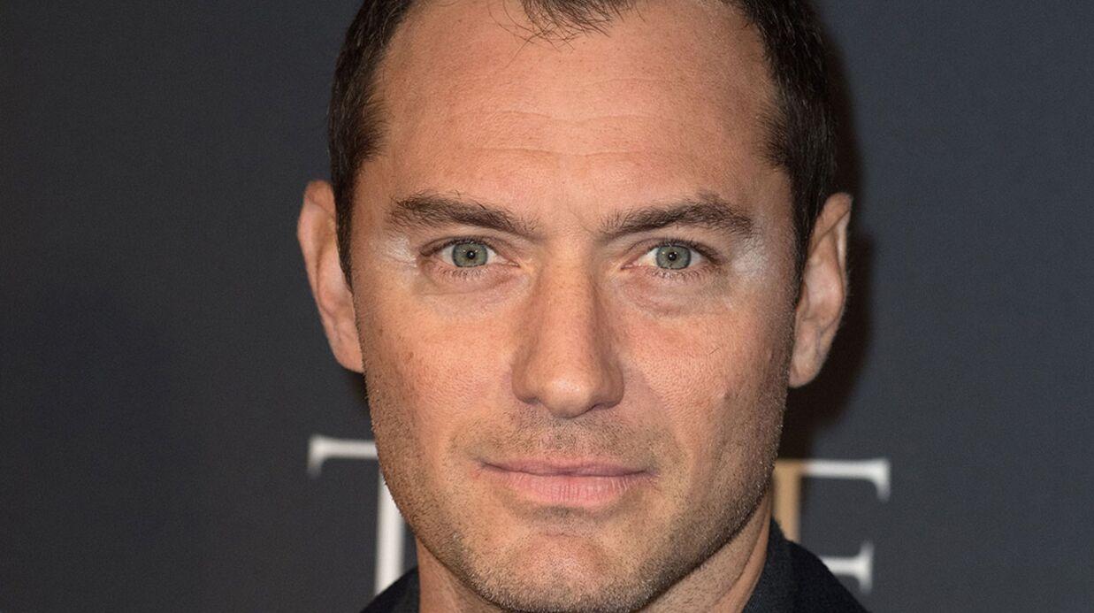 PHOTOS Jude Law et son maquillage raté sur le red carpet de The Young Pope