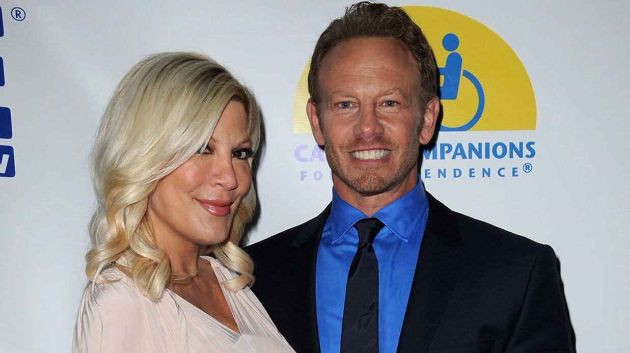 PHOTOS Beverly Hills 90210: les retrouvailles de Tori Spelling et Ian Ziering