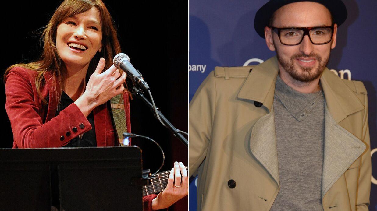 Carla Bruni a écrit une chanson pour le nouvel album de Christophe Willem