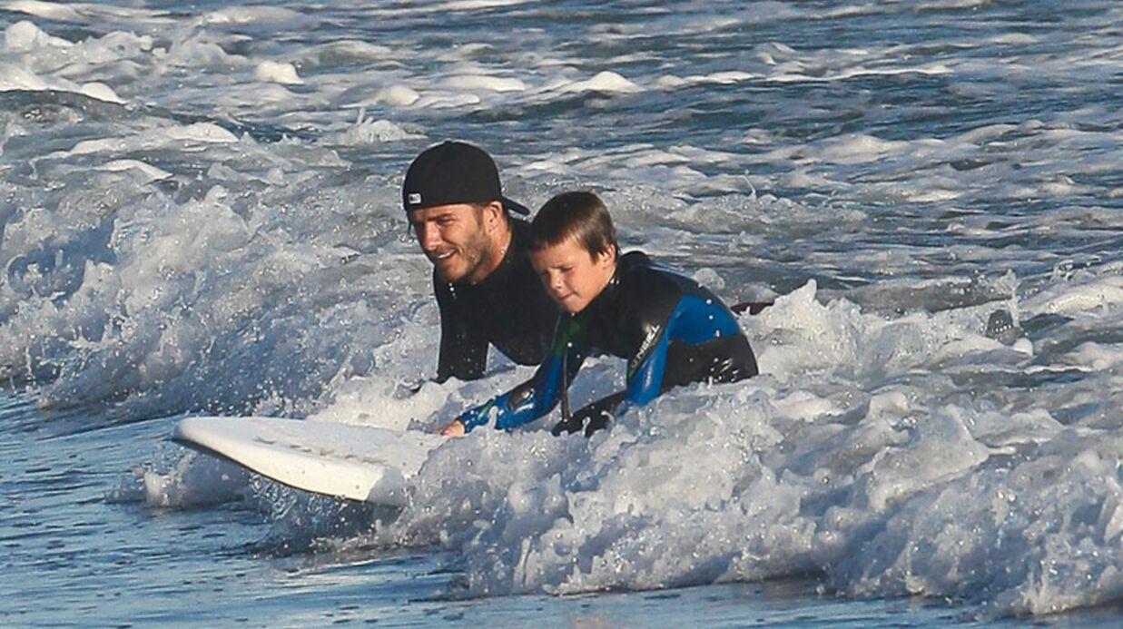 DIAPO Les people à fond sur le surf