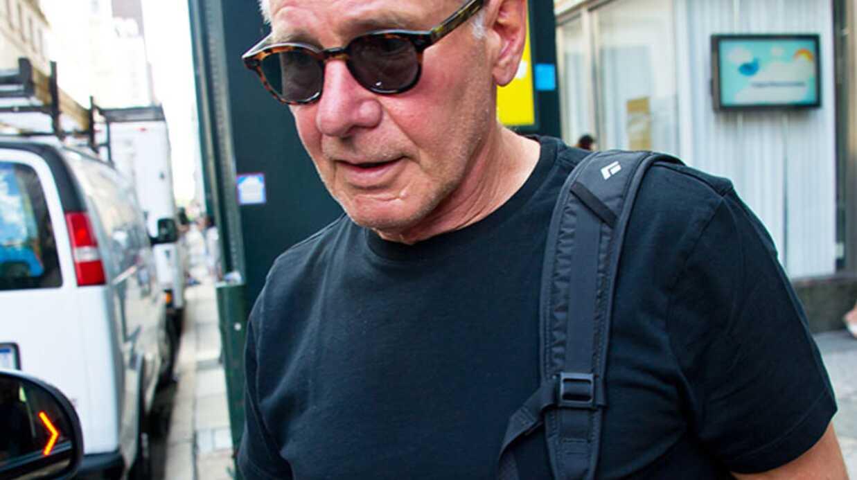 PHOTOS Harrison Ford se rase le crâne