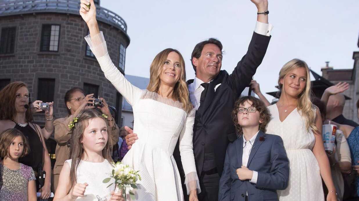 PHOTOS L'animatrice Julie Snyder s'est mariée!