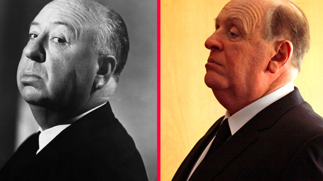 Anthony Hopkins impres­sion­nant en Alfred Hitch­cock