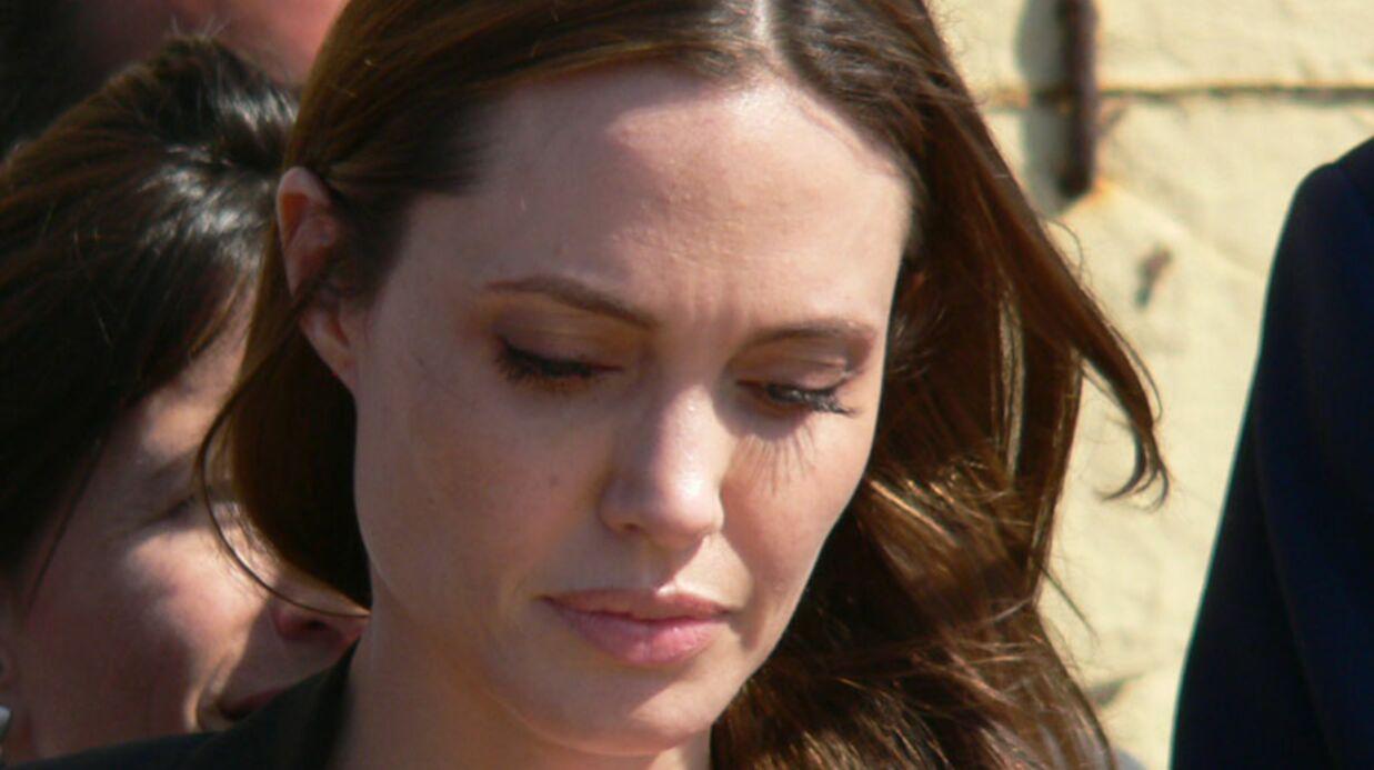 Angelina Jolie en larmes après la demande en mariage de Brad Pitt
