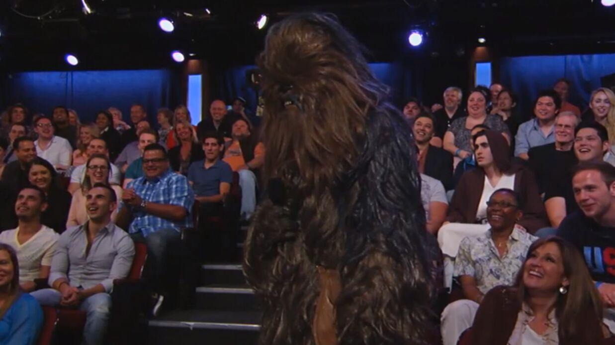 VIDEO Harrison Ford insulte copieusement Chewbacca