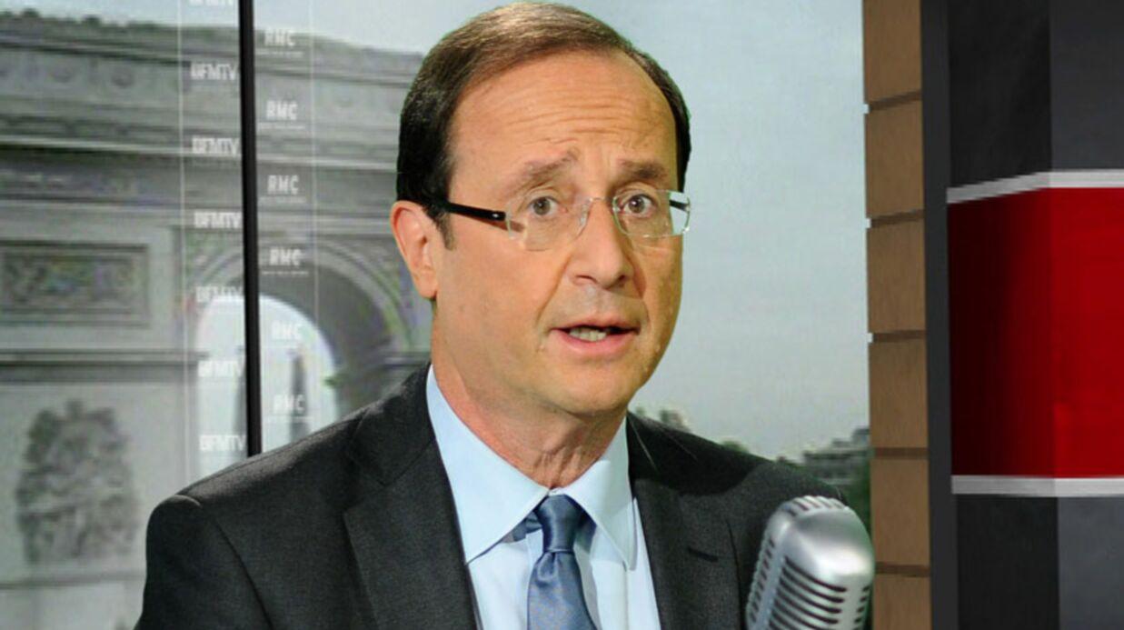François Hollande: menacé de mort