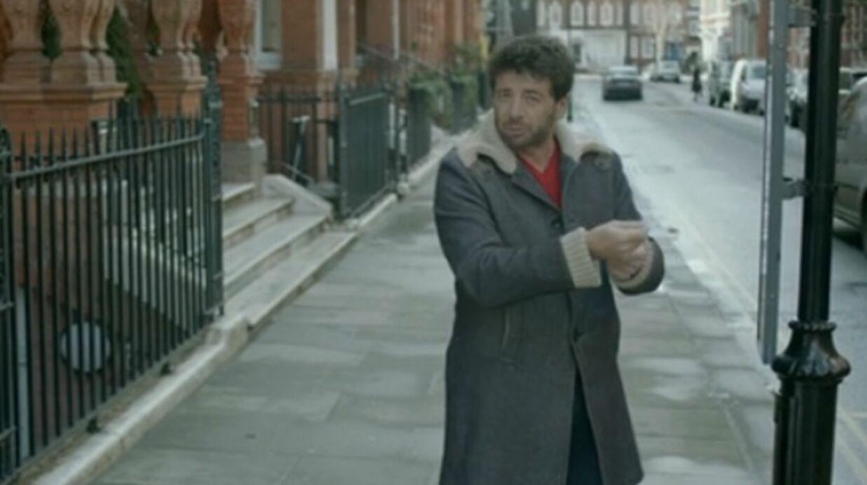 VIDEO Patrick Bruel sur les traces d'une ancienne conquête à Londres
