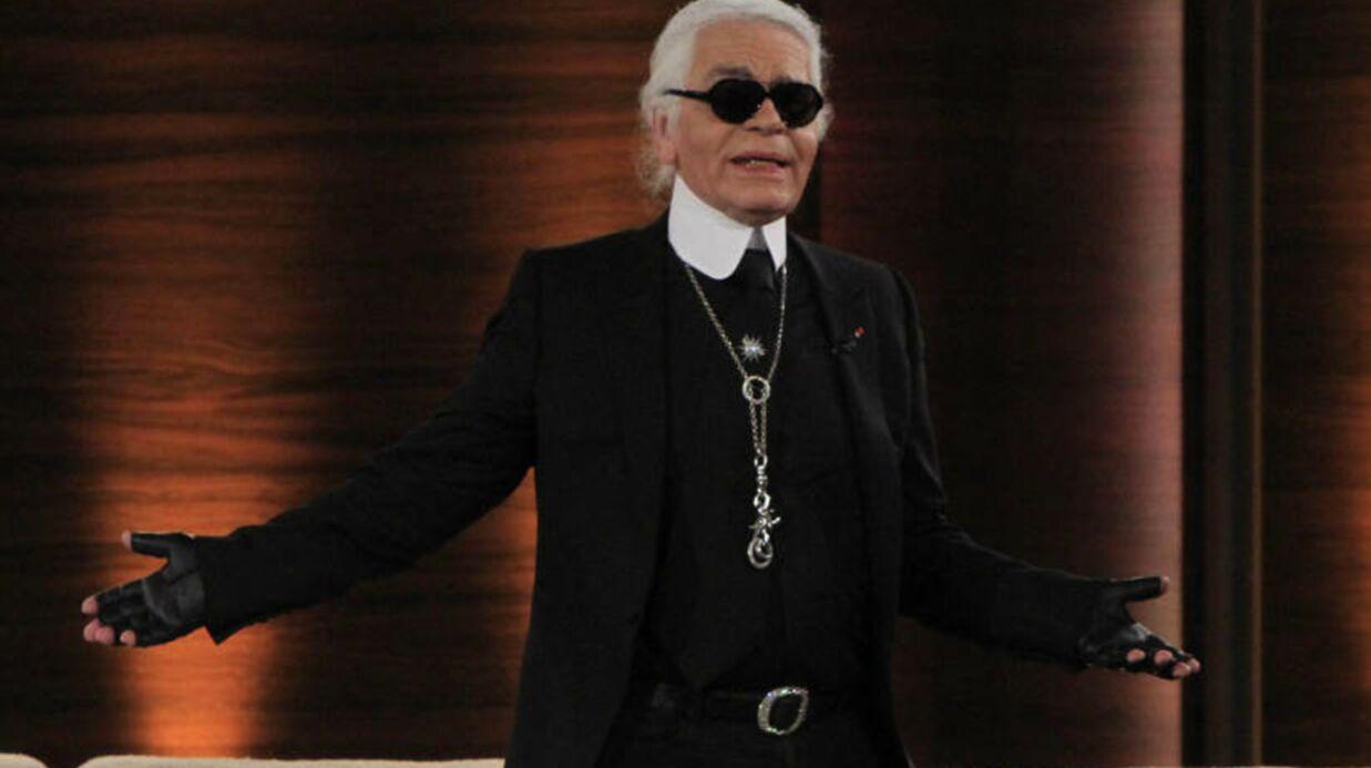 Zahia est une «pin-up de Vargas» pour Karl Lagerfeld