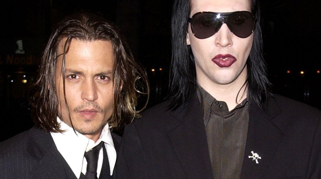 Marilyn Manson se confie sur son amitié fusionnelle avec Johnny Depp