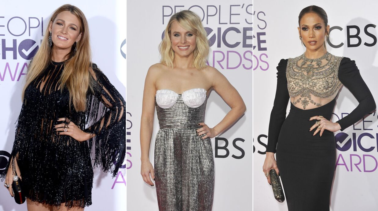 PHOTOS Jennifer Lopez sexy, Blake Lively glamour aux People's Choice Awards