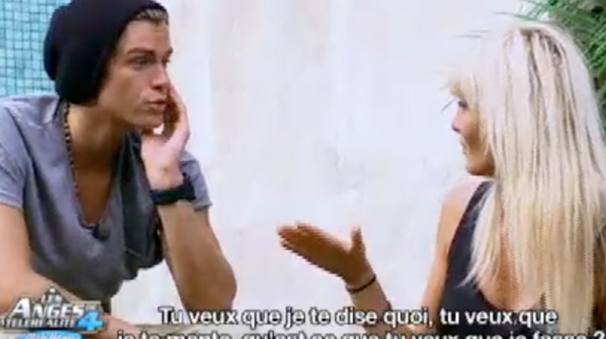 VIDEO Les Anges de la télé­réa­lité 4 : Marie gifle ENCORE Geof­frey