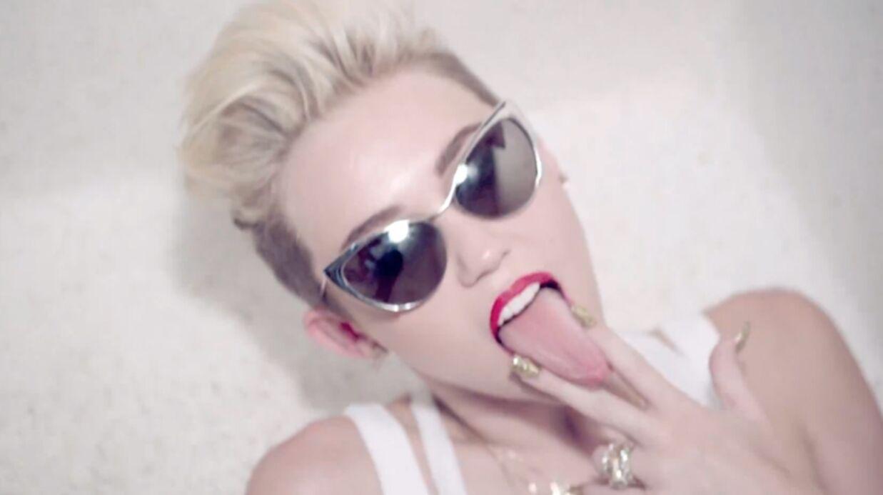 VIDEO Miley Cyrus tombe dans le mauvais goût pour la jouer hot dans son nouveau clip