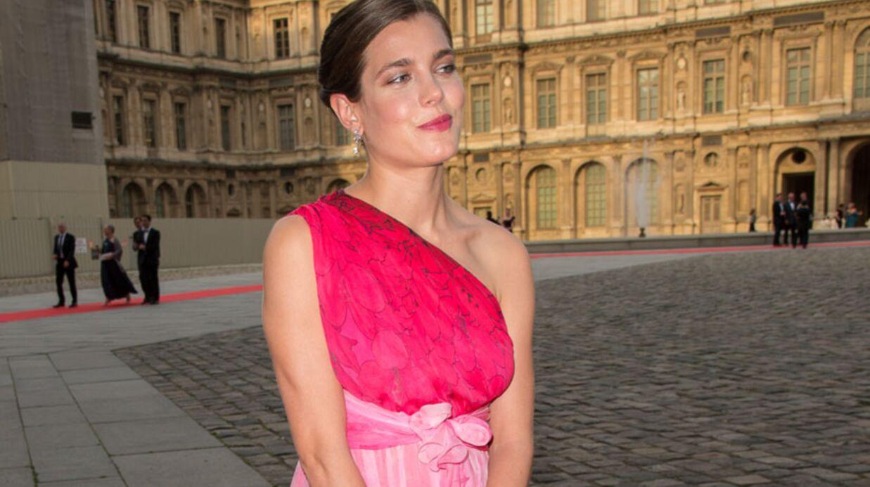 DIAPO Charlotte Casiraghi sublime à un gala de charité au Louvre
