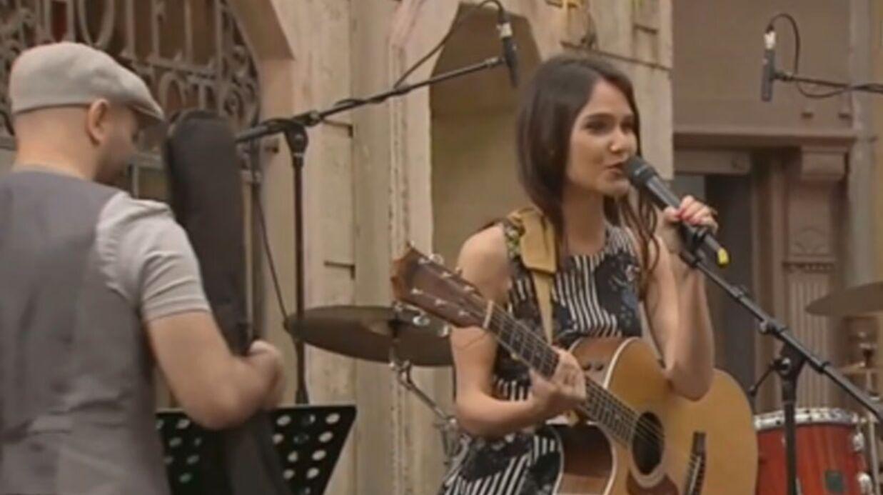 VIDEO Joyce Jonathan dans Plus belle la vie pour la fête de la musique
