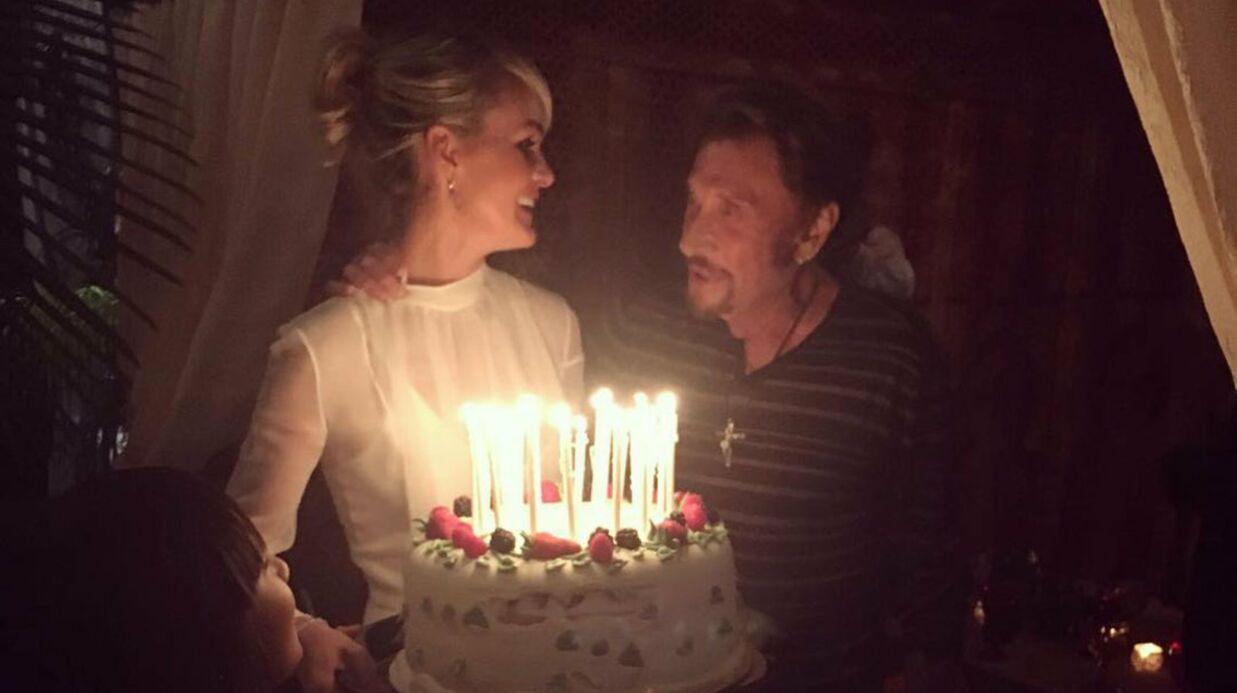 PHOTOS Johnny Hallyday: un somptueux anniversaire concocté par Laeticia