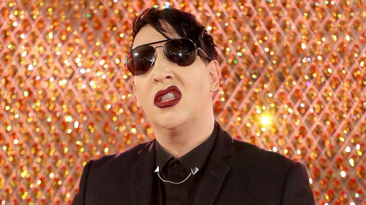Marilyn Manson poste une photo de lui avec son papa: ils ont le même maquilleur