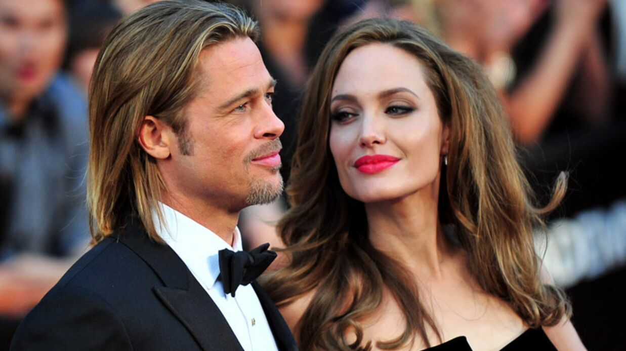Angelina Jolie & Brad Pitt: virée shopping à Londres