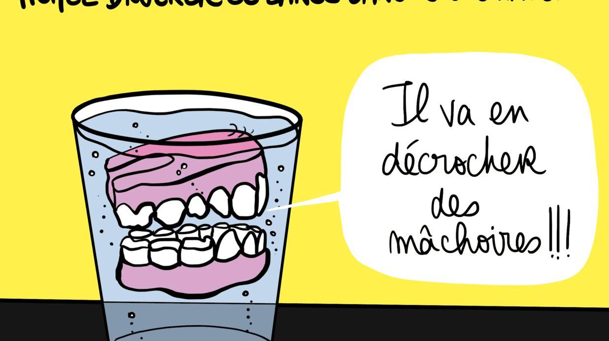 Louison a croqué: le one man show de Michel Drucker
