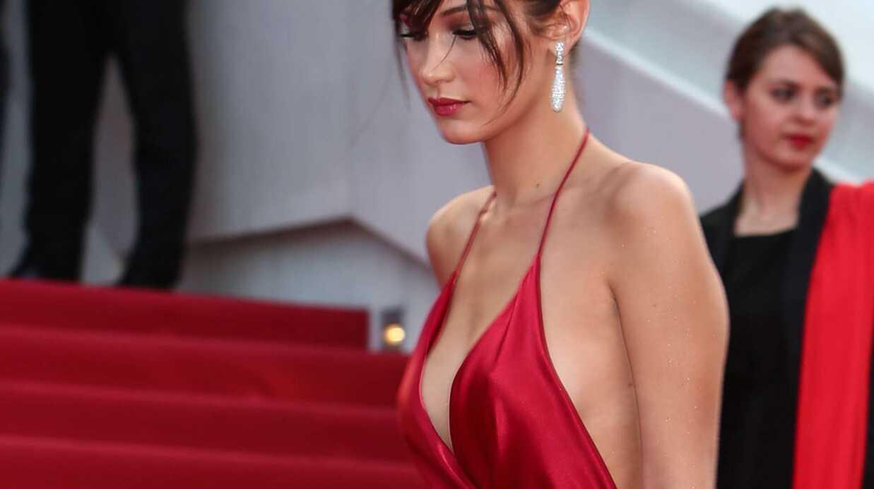 PHOTOS Cannes 2016 – Bella Hadid: sa robe torride lui joue des tours, elle dévoile ses dessous